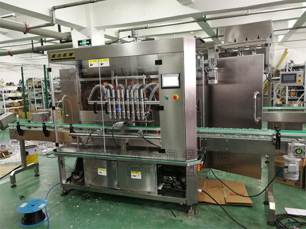 星火全自动蜂蜜加工设备生产线展示